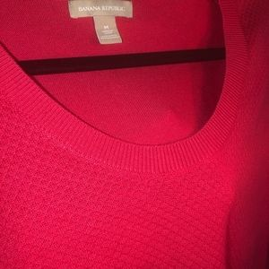 Banana Republic Sweaters - Banana Republic | Hot Pink Sweater